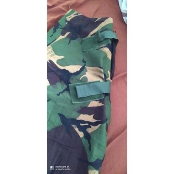 Spodnie wojskowe kamuflaż woodland