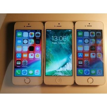 2x iPhone 5s 1x iPhone 5  zestaw, pakiet