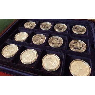 Kolekcja 12 medali; Św. Jan Paweł 2