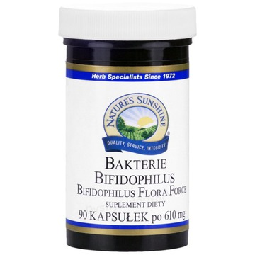 BAKTERIE BIFIDOPHILUS 90kap NSP Prawidłowa flora