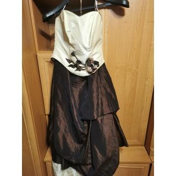 Śliczny gorset + spódnica