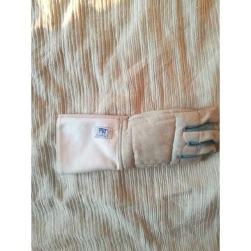 Rękawica praworęczna szermierka szabla + łapka
