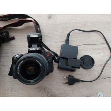Sony Alfa A55 + obiektyw 18-55