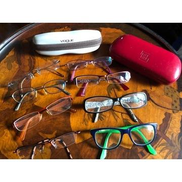 Oprawki okularowe dziecięce/młodzieżowe - ZESTAW