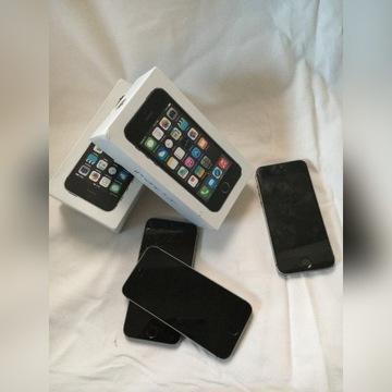 Iphone 5S - 3 telefony w zestawie