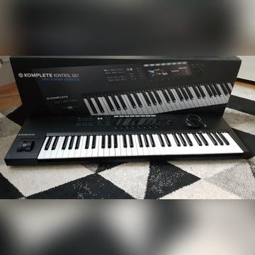 Komplete Kontrol S61 MKII - klawiatura MIDI
