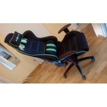 Krzesło gamingowe apex racer jak nowe !!!