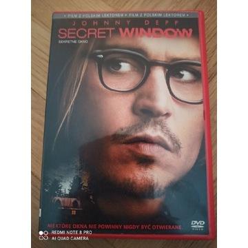 Sekretne okno DVD Johnny Depp