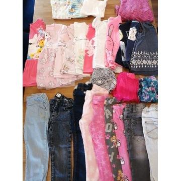 Zestaw ubranek dla dziewczynki 3 - 5 lat