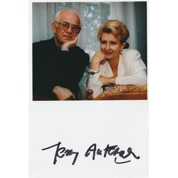 JERZY ANTCZAK - autograf
