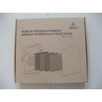 Filtr oczyszczacza METROX ME-1523 - Zestaw filtrów
