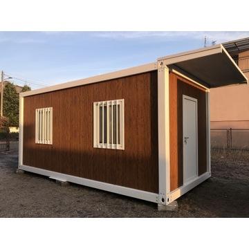 KONTENER MODUŁOWY SKRĘCANY 18m2 mieszkalny, 6x3m