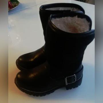 Kozaki *buty zimowe Reserved 25 *eleganckie