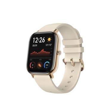 Smartwatch AMAZFIT GTS Złoty stan idealny