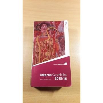 Książka Interna Szczeklika 2015/2016 stan BDB
