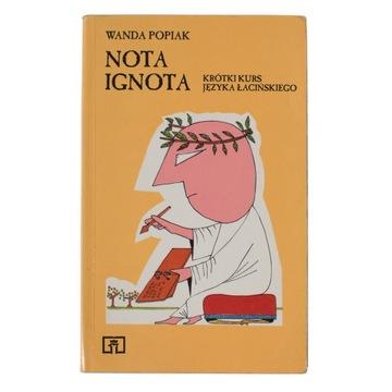 Nota Ignota, krótki kurs języka łacińskiego