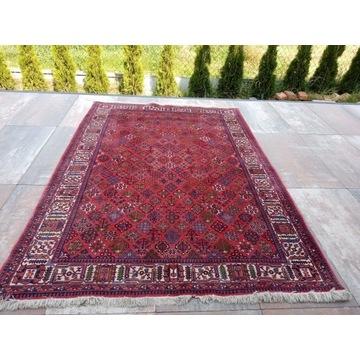 Piękny Irański wełniany ręcznie tkany dywan