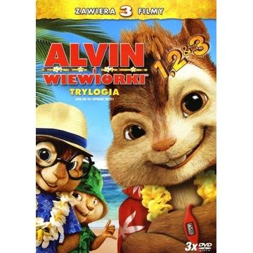 ALVIN I WIEWIÓRKI TRYLOGIA [3DVD]