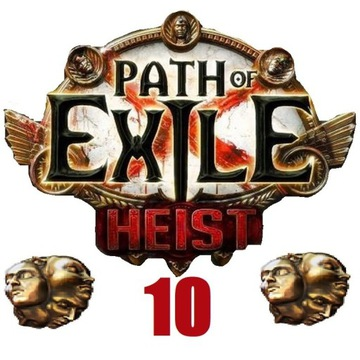 10x Exalted Orb Path of Exile Heist PC Softcore
