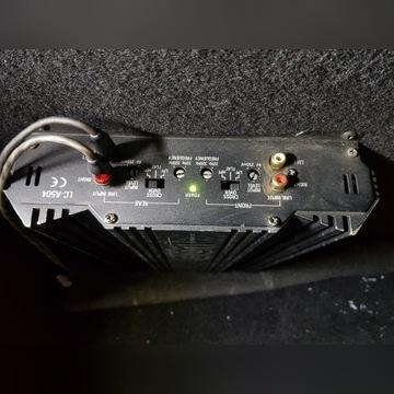 JBL LC-A504 wzmacniacz samochodowy BASS 200 WATT