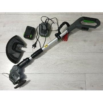 Podkaszarka aku Lux-Tools + 4Ah + szybka ładowarka