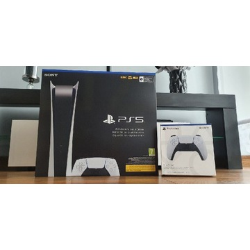 PlayStation 5 Digital + kontroler DualSens PS5