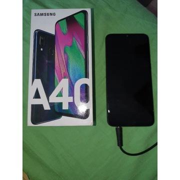 Samsung Galaxy a40 niebieski