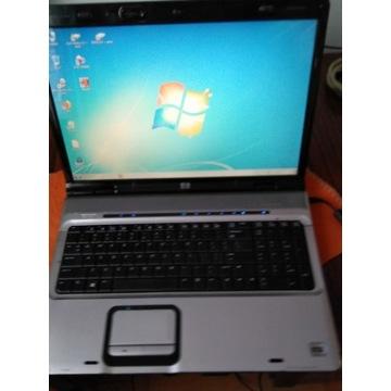 Laptop HP dv9790ew 17''sprawny