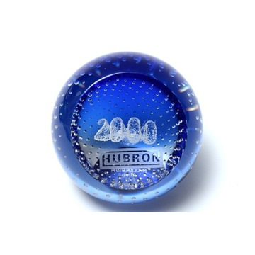 "Przycisk do papieru Caithness ""Millenium 2000"""