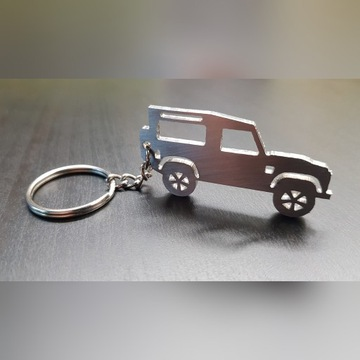 Land Rover Defender Brelok Breloczek Prezent Auto