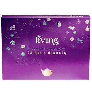 Kalendarz adwentowy herbaty