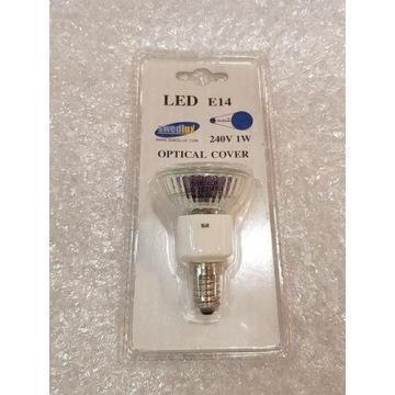 Żarówka LED Kolorowa Swedlux E14 1W Niebieska