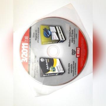 PC World CD 3-2011 UNIKAT 109 programów za 50 gr