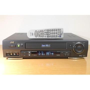 Magnetowid JVC HR-S7711,High-end S- VHS ET, TBC/NR