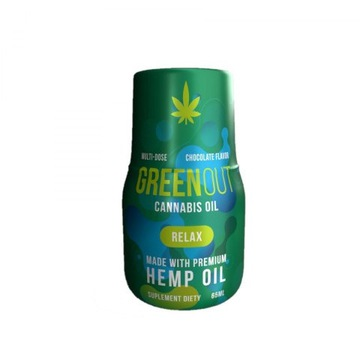 Olejek Konopny Green Out Relax 156mg