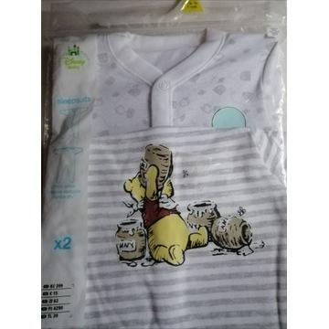 Śpiochy niemowlęce śpiochy 1msc śpiochy 2szt