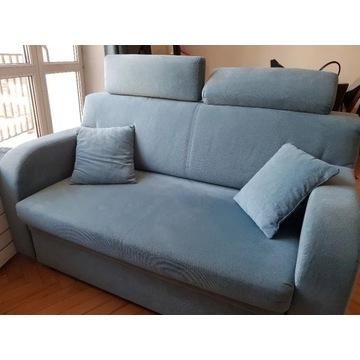 Dwuosobowa sofa z funkcją spania