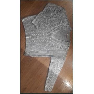 Szary sweter, oversize, firmy Orsay, rozmiar M