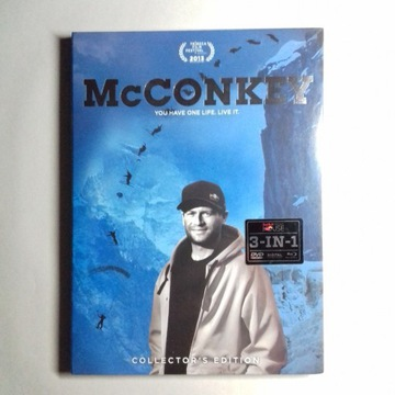 Zestaw płyt Blu-ray+DVD Red Bull McCONKEY 3in1