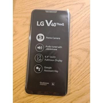 Smartfon LG V40 ThinQ LM-V405EBW (platinum gray)