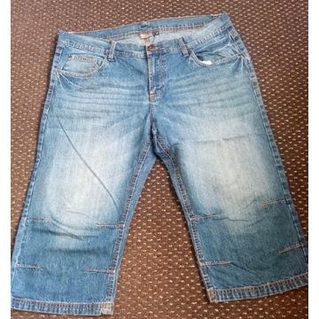 Spodnie męskie krótkie 3/4 rozmiar 56 używane