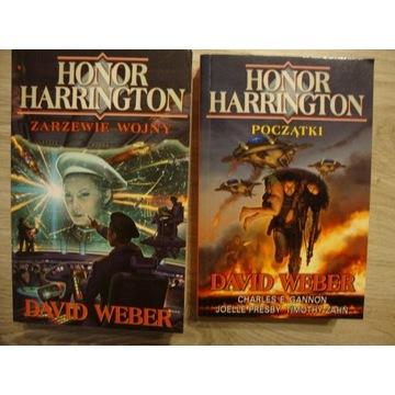 Honor Harrington Zarzewie buntu, Początki D. Weber