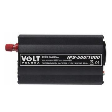 Przetwornica samochodowa 12V IPS 1000W 500W