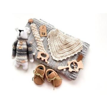 Baby Box baby Shower zestaw prezentowy handmade
