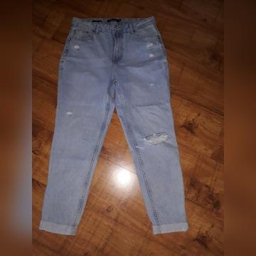 Spodnie jeansowe boyfriend 38/M