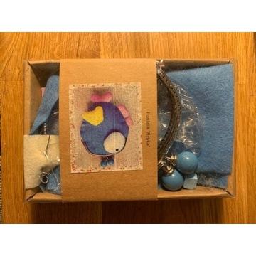 nowy zestaw kreatywny empik portfel rybka