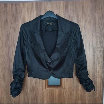 Bolerko czarne L 40 eleganckie
