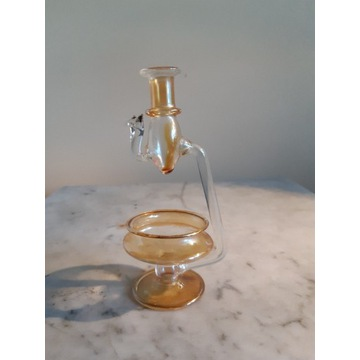 Kominek z dmuchanego szkła do olejków eterycznych