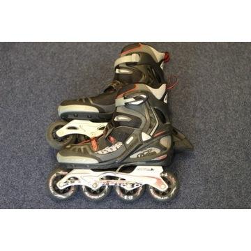 Rolki Rollerblade męskie, R42,5 wkładka 27,5 cm