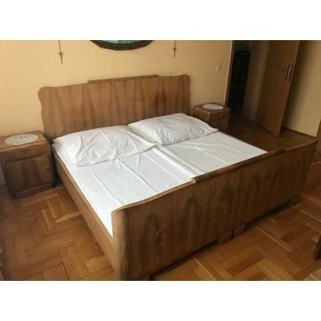 Łóżko z lat pięćdziesiątych